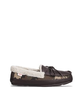 Tamarac by Slippers International Men's Badger Moccasin Chocolate 7