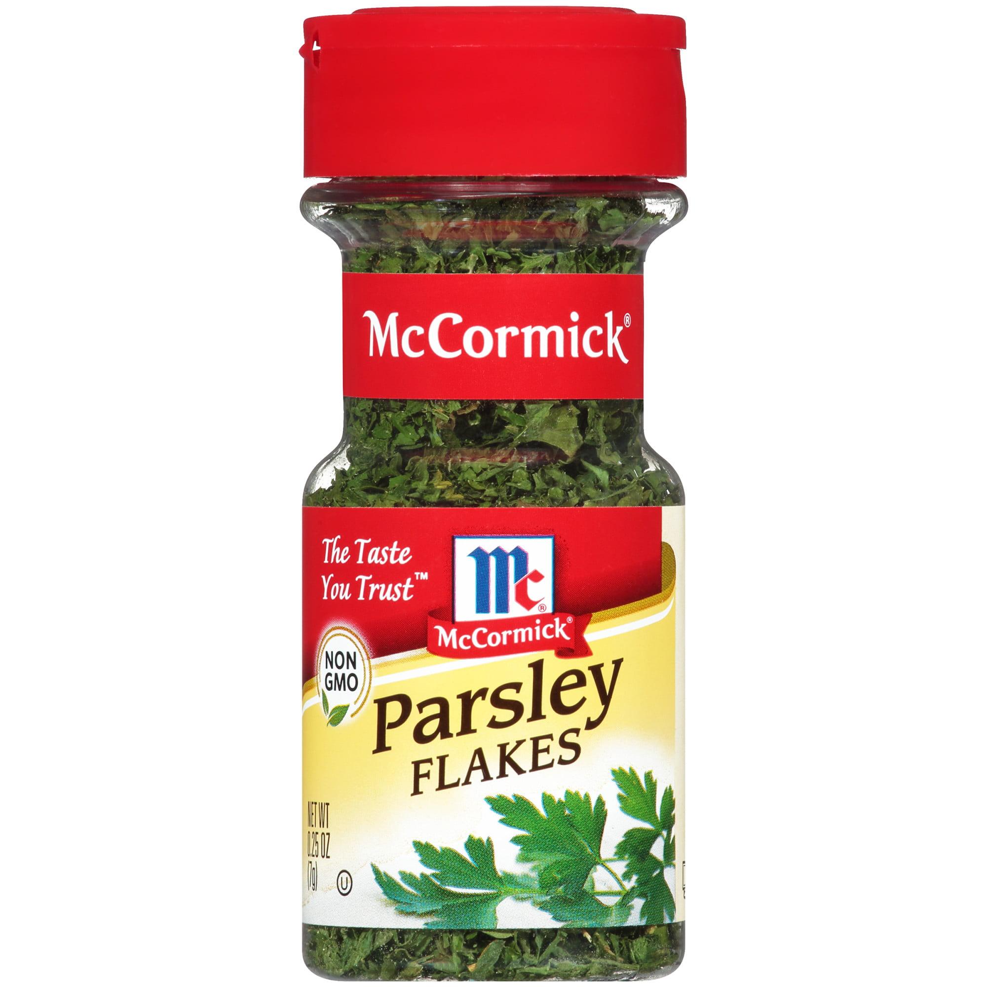 (2 Pack) McCormick Parsley Flakes, 0.25 oz