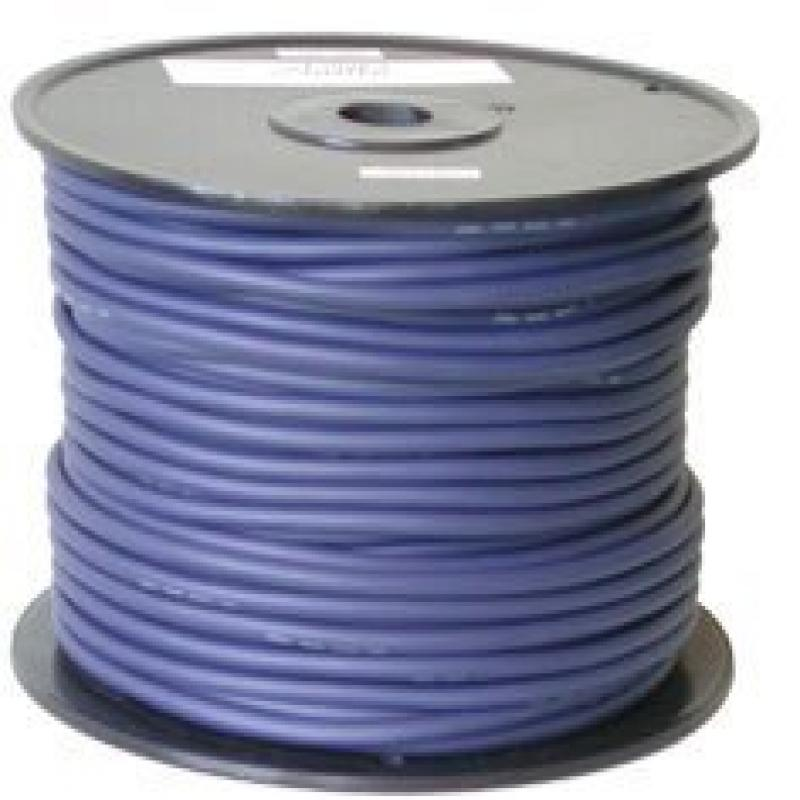 2C PVC7.0BL, 330ft (100M), 7mm, HIGH PERFORMANCE 16AWG SPEAKER CABLE