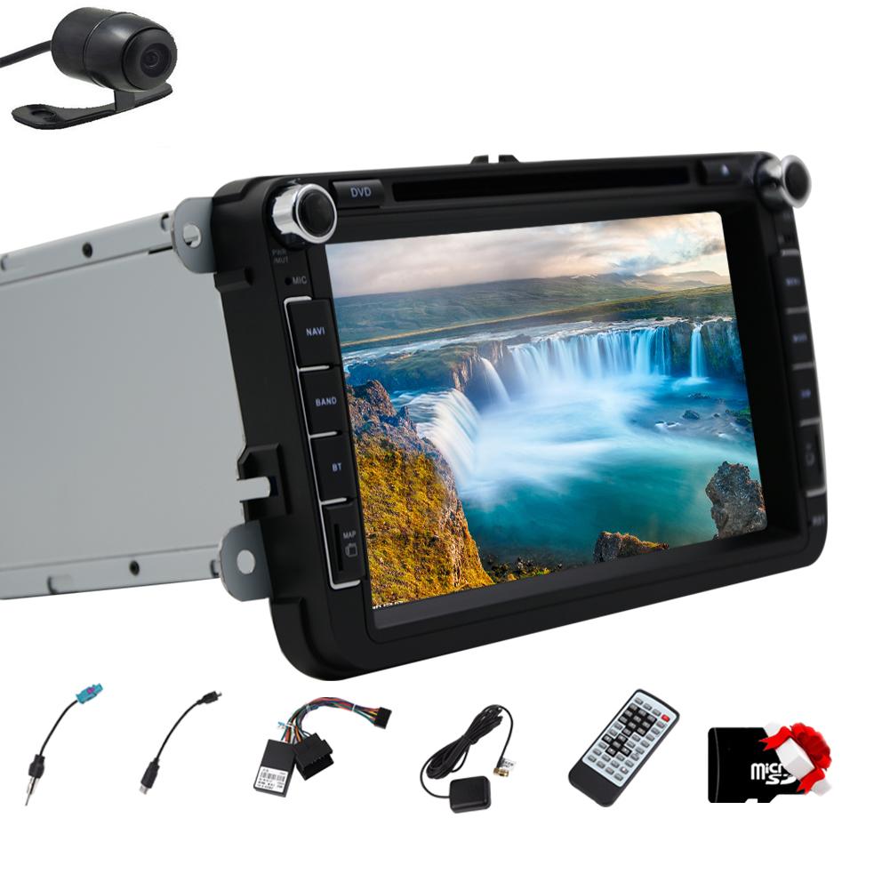 HD Digital TouchScreen 2 Din Car DVD CD Player GPS Naviga...