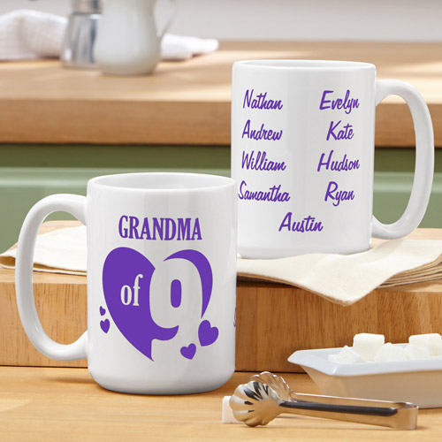 Personalized Kids of My Heart Mug