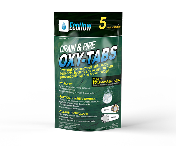 Drain Amp Pipe Oxy Tabs For Garbage Disposals Eliminates