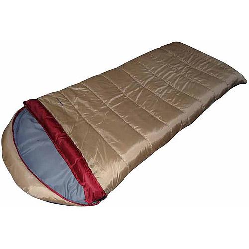 Ozark Trail ENV Husky Outdoor Sleeping Bag, Brown ...