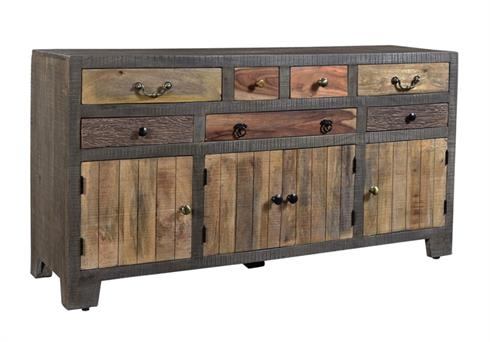 Coast To Coast Seven Drawer Four Door Credenza 98226 by