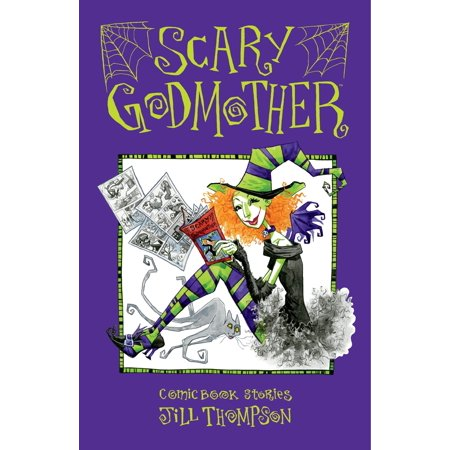 Scary Godmother Comic Book - Scary Middle School Halloween Stories