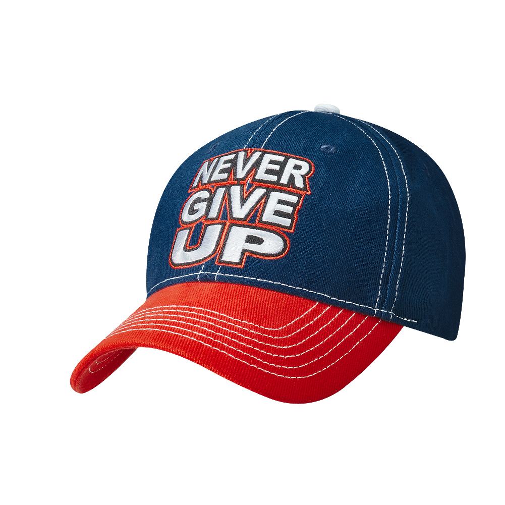"Official Wwe Authentic John Cena ""U Cant Stop Me"" Baseball Hat Multi"