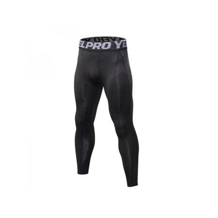 75a53b1634 Ropalia Men Sport Compression Trousers Quick-drying Sports Leggings Running  Gym Fitness Sweatpants Trousers Pants - Walmart.com