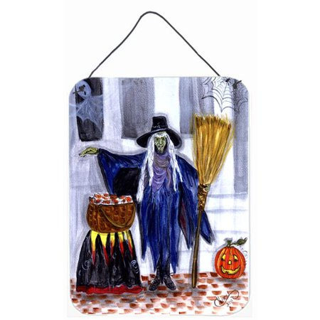 Witches Brew Aluminium Metal Wall or Door Hanging Prints - Halloween Witches Brew Poem