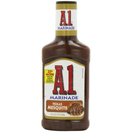 Image of A.1. Marinade Texas Mesquite, 16 fl oz, Bottle