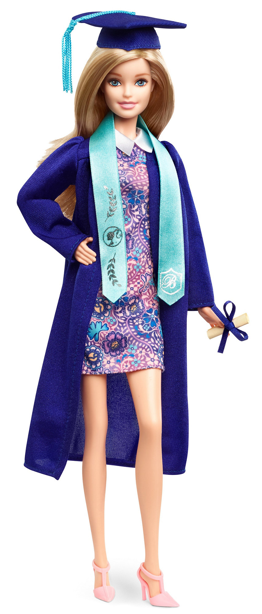 Barbie Graduation Day Doll, Blonde by Mattel