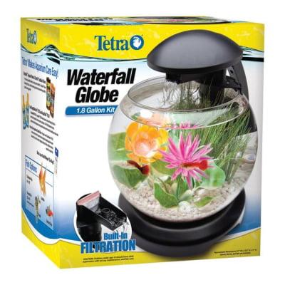 Aquatics Tetra Waterfall Globe Aquarium Kit, 1.8 gal by United Pet Group