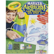 Crayola Marker Air Brush Sprayer with Washable Markers and Paper