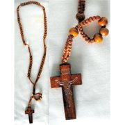 DDI 1226248 Wholesale Rosary Necklace Wood 3 Colors Case Of 120