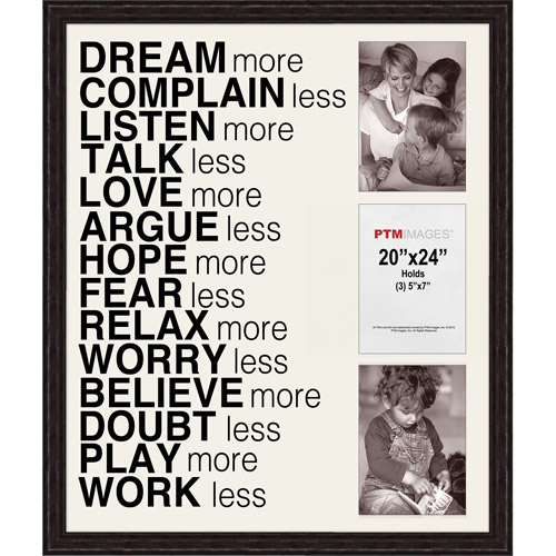 Dream More II Picture Frame