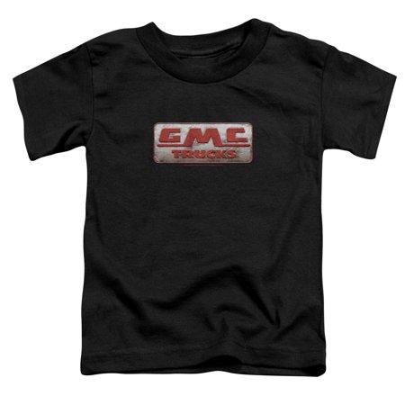 Gmc Beat Up 1959 Logo Little Boys Shirt