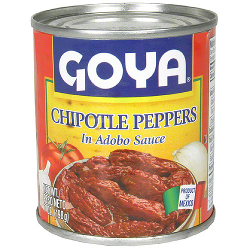 Goya Chipotle Peppers In Adobo Sauce, 7 oz (Pack of 12)
