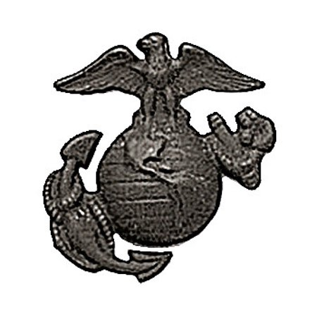 Usmc Globe And Anchor - USMC Globe and Anchor Pin-On Insignia USA Made Subdued