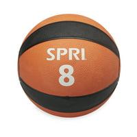 SPRI Medicine Ball, 8-12 lbs