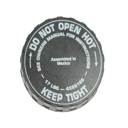 Chrysler Sebring Radiator Cap (Factory New Mopar Part # 4596198 Radiator Cap for Chrysler and Dodge Vehicles)