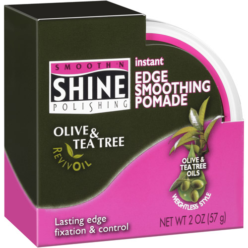 Smooth 'N Shine Instant Edge Smoothing Pomade, 2 oz