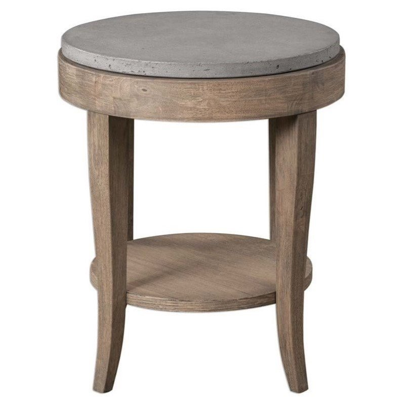 Medium image of uttermost deka round accent table