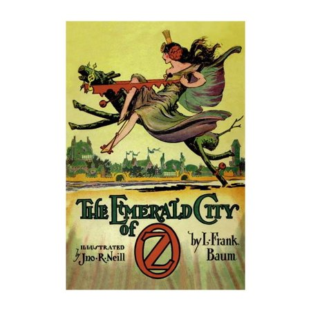 Emerald City Vintage (Emerald City of Oz Print (Unframed Paper Print 20x30))
