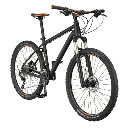 """Mongoose Tyax Pro 27.5"""" Men's Hardtail Mountain Bike, Black, Large"""