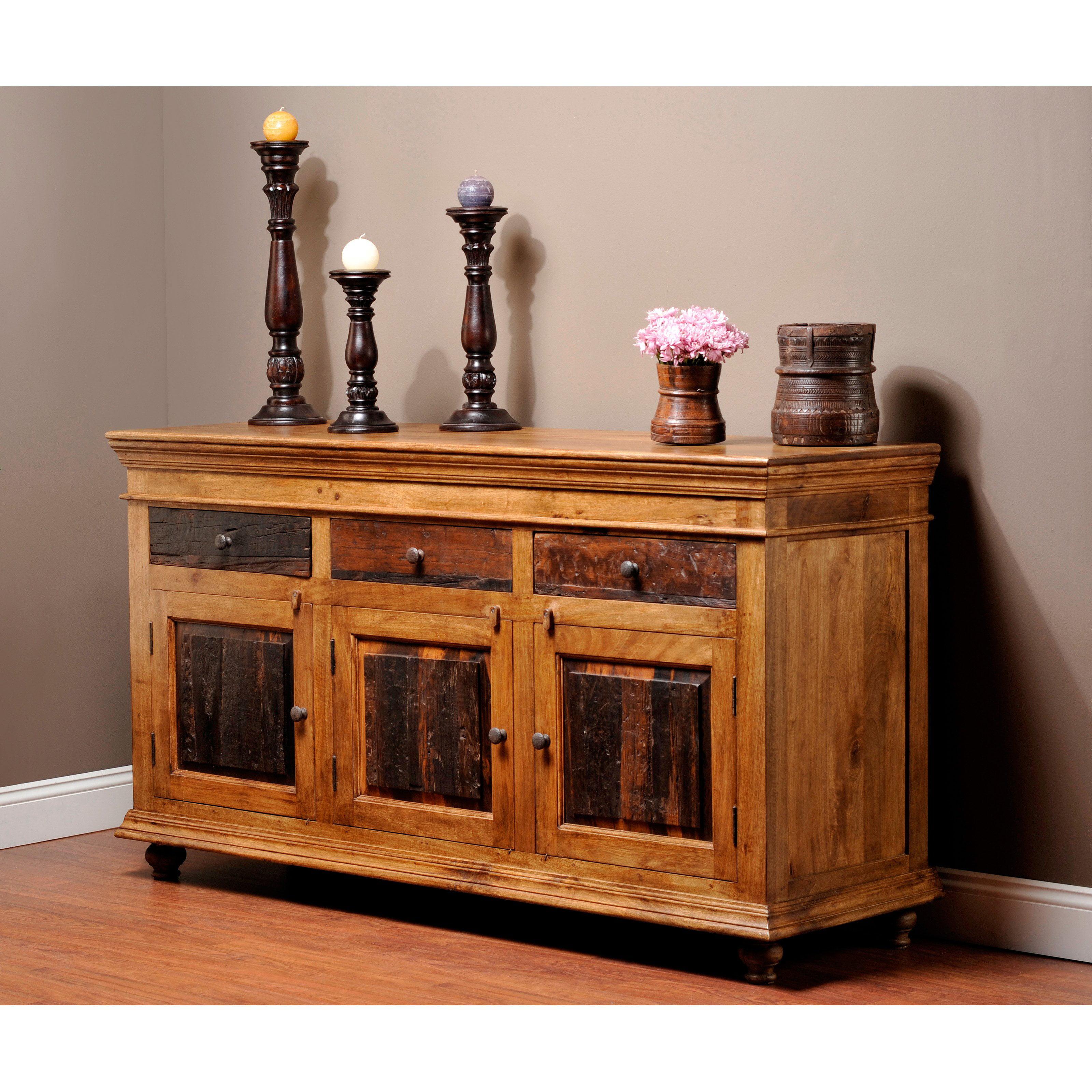 Ayca Furniture Heartland Manor Sideboard Walmart Com