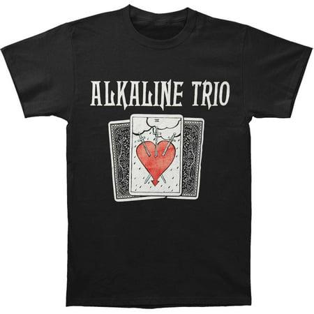 Alkaline Trio Men's  Tarot Tee T-shirt - Alkaline Trio Halloween