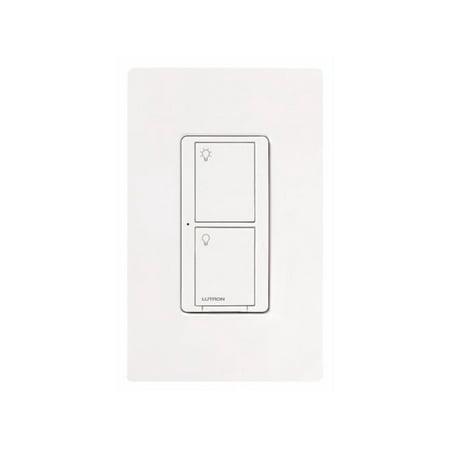Lutron Wireless Switch >> Lutron Pd 5ws Dv Wh Light Switch Caseta Wireless 5a Lighting 3a Fan Rf On Off White