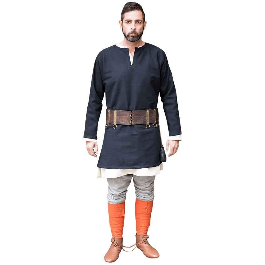 Large Men/'s VikingMedieval Tunic