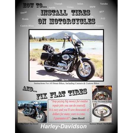 How to Install Tires on Motorcycles & Fix Flat Tires (How To Fix A Flat Bike)