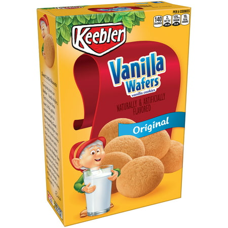 Elegance Cookie Gift Box ((2 Pack) Keebler Vanilla Wafers Snack Cookies 12 oz.)