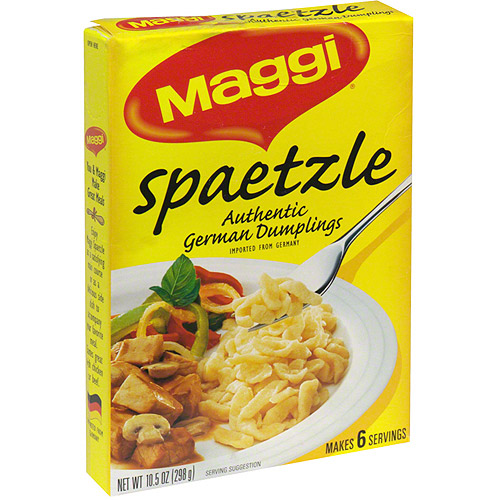 Maggi Spaetzle Dumplings, 10.5 oz (Pack of 10)