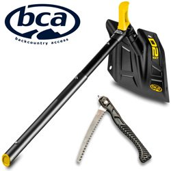 Replacement for PART-C1716001010 BCA BACKCOUNTRY ACCESS DOZER D-2 EXT SHOVEL WITH SAW - BLACK and YELLOW