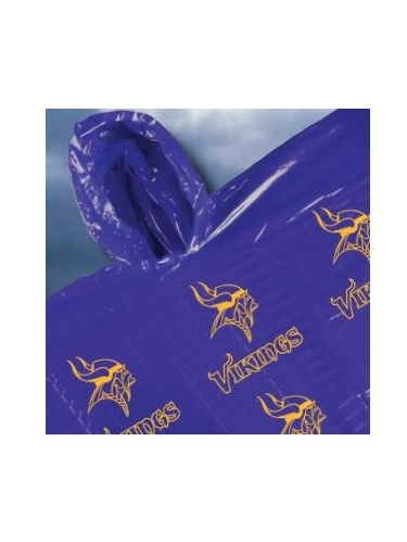 Minnesota Vikings Hooded Poncho by Seven Sons