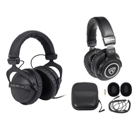beyerdynamic dt 770 pro 32 ohm studio headphones for mobile use free headphones. Black Bedroom Furniture Sets. Home Design Ideas