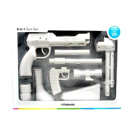 Wwii Gun - Polaroid Zapper 8-in-1 Gun Set  for Nintendo Wii (White)