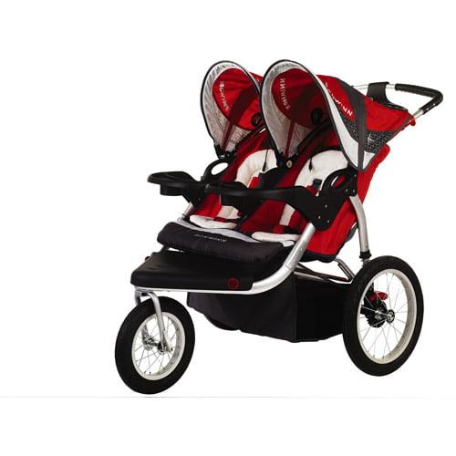 Schwinn - Turismo Double Jogging Stroller, Red
