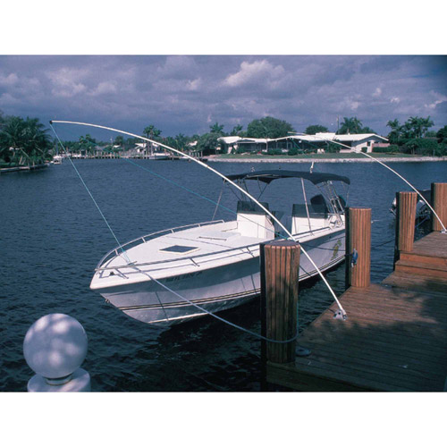 Taylor Standard Mooring Whips with Fixed 60-Degree Angle Base, Sold in Pairs