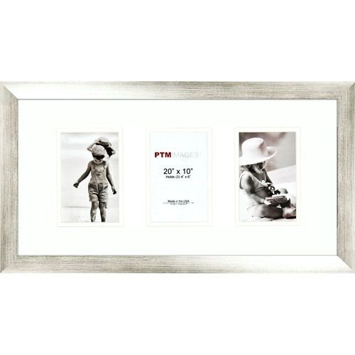 Silver 3-Opening Collage Frame, Set of 2