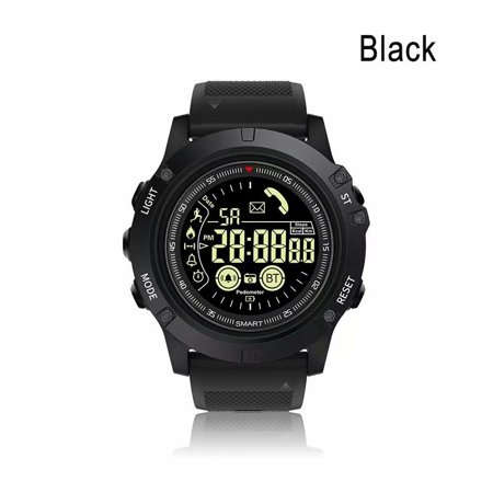 Fitness Tracker Smart Watch Outdoor Sports 5ATM/IP67 Waterproof Call Information Reminder Bluetooth Connection Long Standby Time Smart APP Control for IOS and Android (Best Call Forwarding App Android)