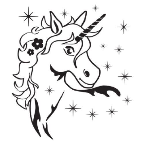 Style and Apply Magic Unicorn Wall Decal