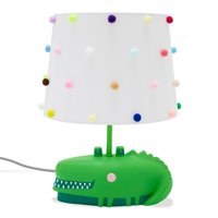 Patterned Shade with Alligator Lamp Base by Drew Barrymore Flower Kids