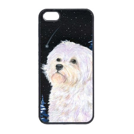 Carolines Treasures SS8461IP5 Starry Night Maltese Cell Phone Cover Iphone 5 - image 1 de 1