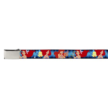Walt Disney Movies TV Shows Ariel's Sea Friends Web Belt