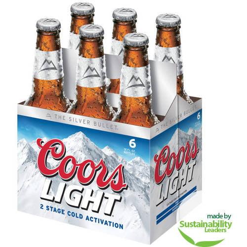 Coors Light Beer, 72 fl oz