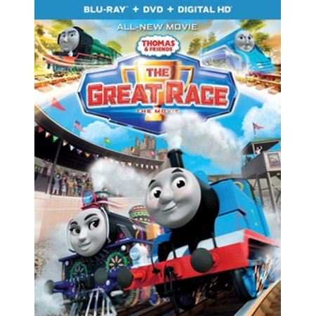 Thomas & Friends: A Great Race (Blu-ray) (Thomas And Friends The Great Race Gina)