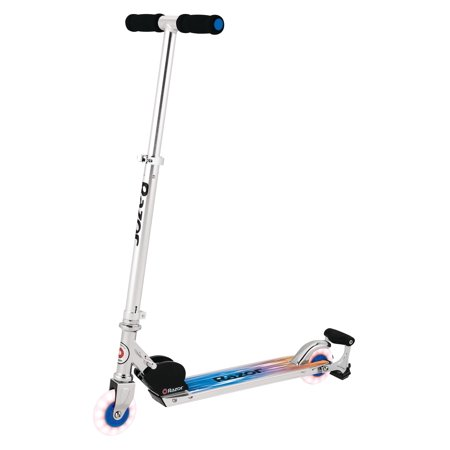 - Razor Spark Ultra Kick Scooter with Super Bright LED Wheels