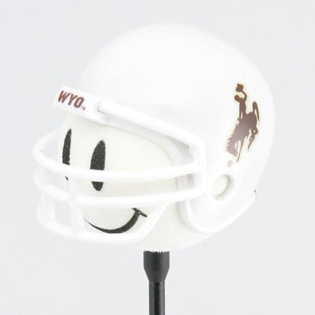 Wyoming Cowboys Football Helmet Antenna Topper